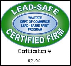 Washington State Lead-Safe Certified Firm